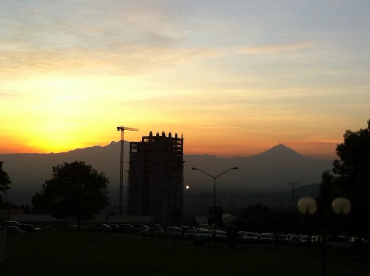 Otro amanecer en la Anáhuac del Sur ¡Hermosos!