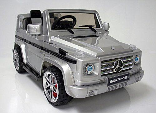 2015 licensed mercedes benz g55 amg kids ride on power for Mercedes benz power wheels car