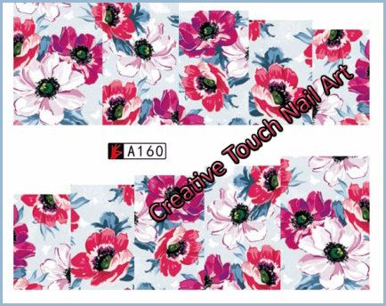 Buy WATER TRANSFER NAIL ART DECAL - FLOWERfor R5.50