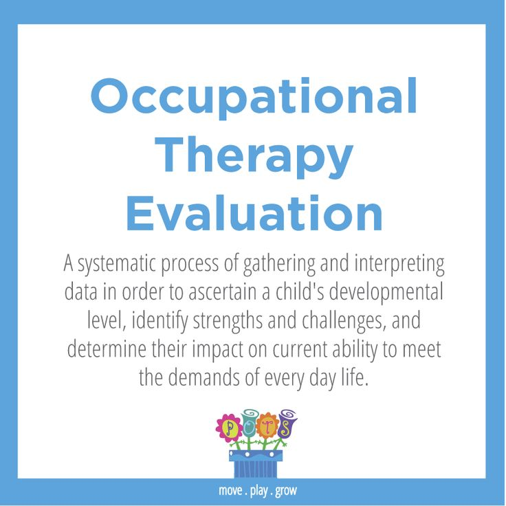 Best Ot Terms By Pots Pediatric Occupational Therapy Services