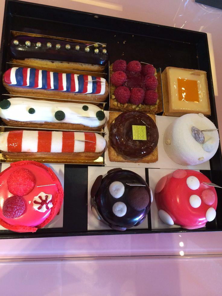 Various cute desserts from Fauchon Bangkoj