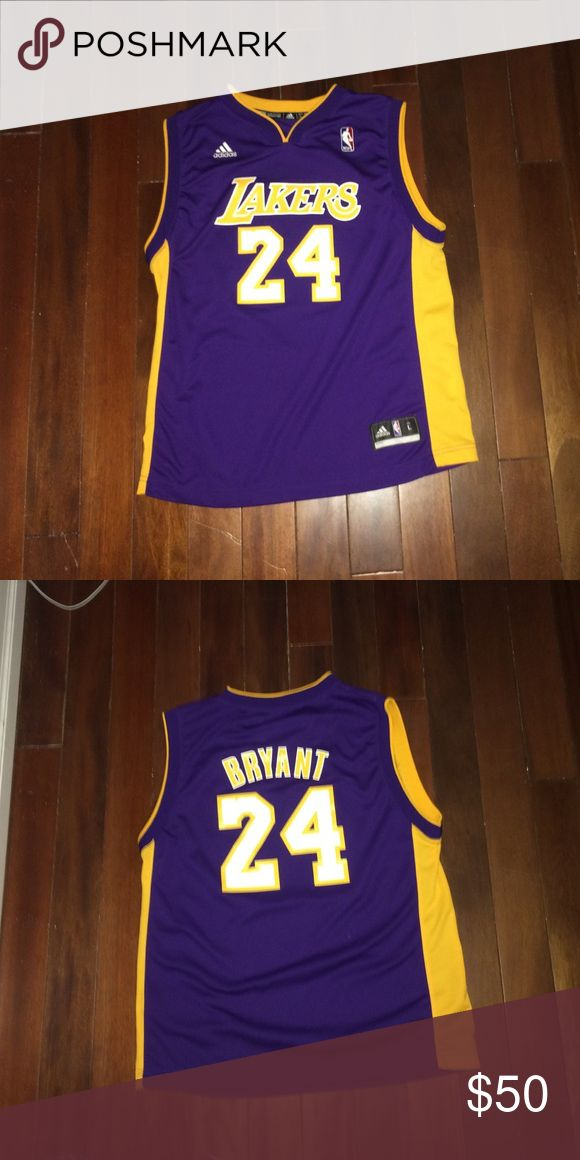 I do not wear it, since it is not my style Kobe Bryan adidas NBA original Lakers jersey. Good condition, only worn a couple times Adidas Other