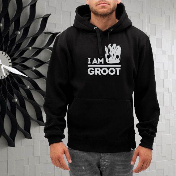 I am groot guardian of galaxy hoodie  size SMLXL2XL3XL by gajeshop