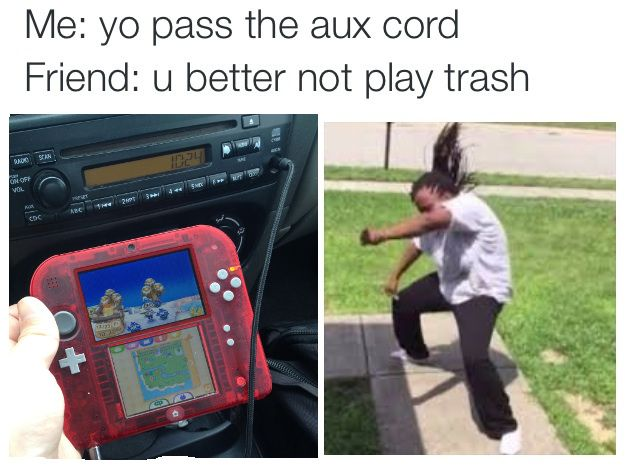 Haha. I can see that the guy's playing Animal Crossing New Leaf, I like that game too.