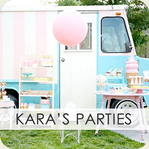 TONS of ideas for every kind of party you can imagine!