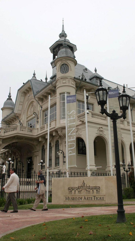 Museo casa de Domingo F. Sarmiento en una de las islas de El Tigre BUENOS AIRES