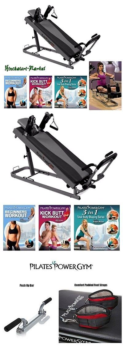 Pilates Tables 179807: Ultimate Pilates Fitness Exercise Reformer Gym W Push Up Bar And Workout Dvds -> BUY IT NOW ONLY: $489.29 on eBay!