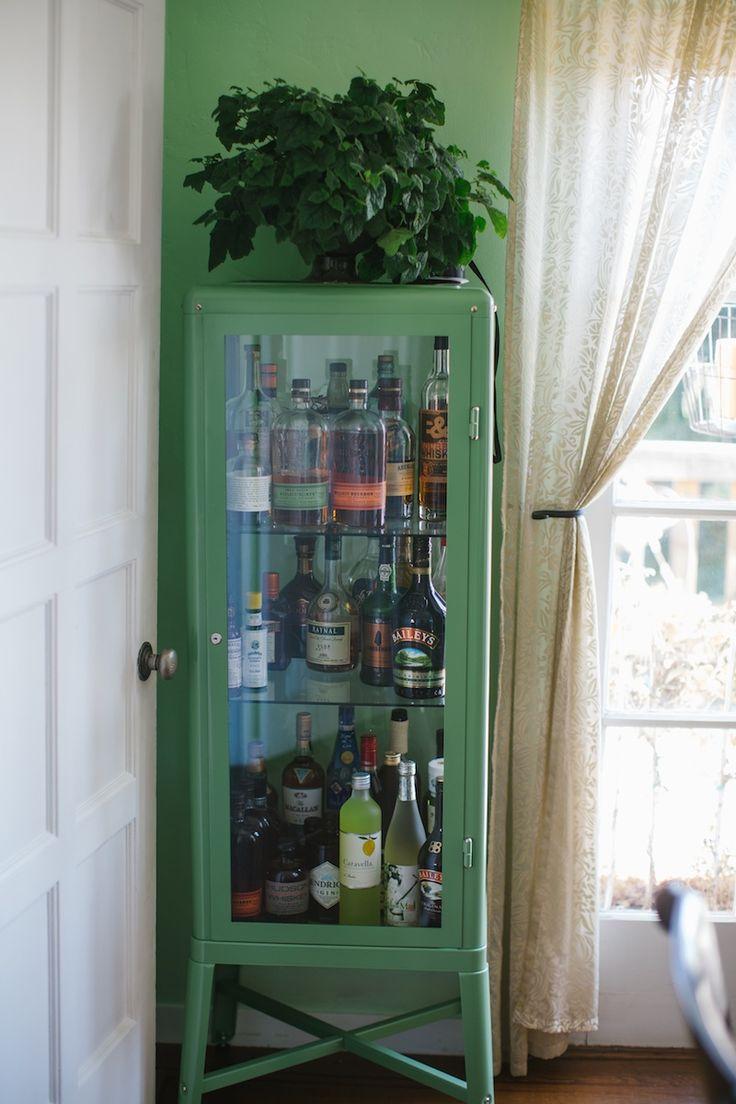 wohnzimmerlampen ikea:Costco Liquor Cabinet
