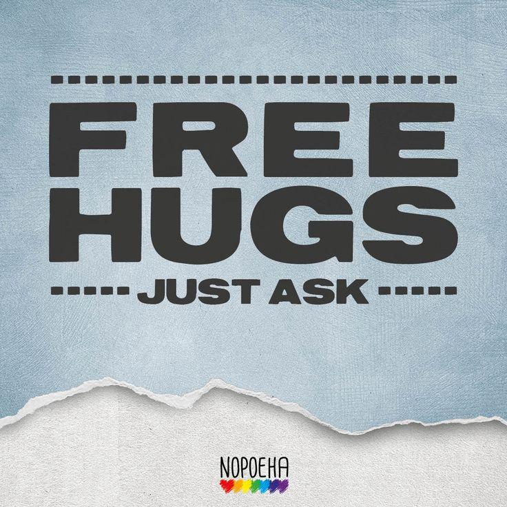National Hug Day: Free hugs!