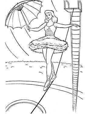 pin auf ausmalbilder zirkus