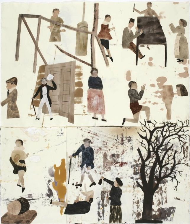 Art Splash: Jockum Nordström - Who is sleeping on my pillow - David Zwirner Gallery - New York