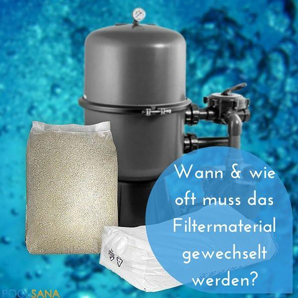 Unterschied Filtersand, Filterglas und die Frage: Wann und wie oft muss das Filtermaterial gewechselt werden? #pool #sandfilter