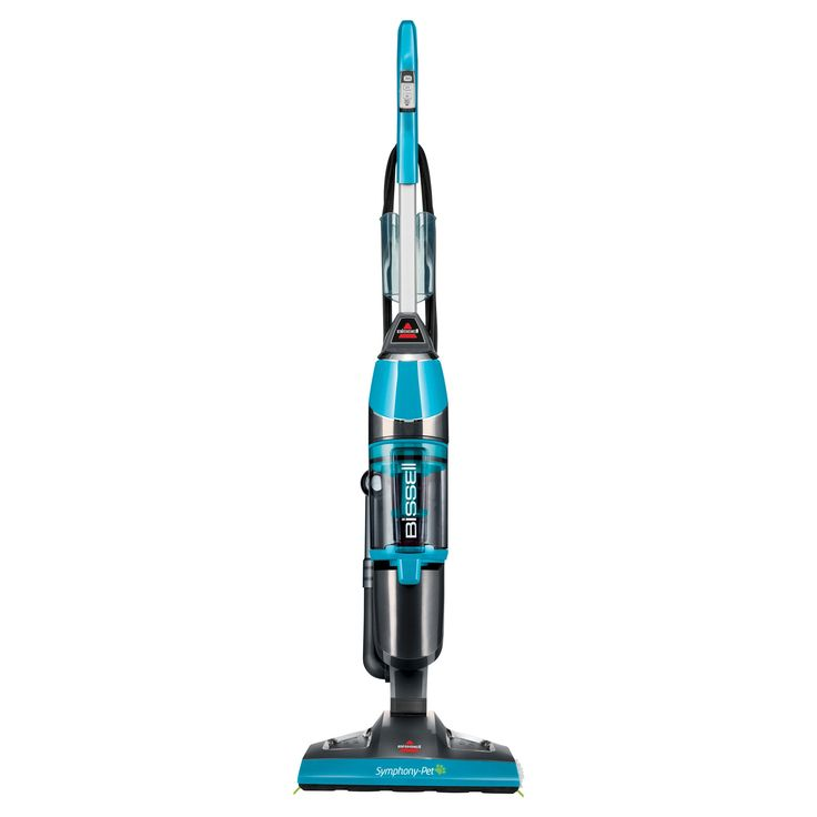Bissell Symphony Pet All-in-One Vacuum and Steam Mop- Disco Teal 1543T