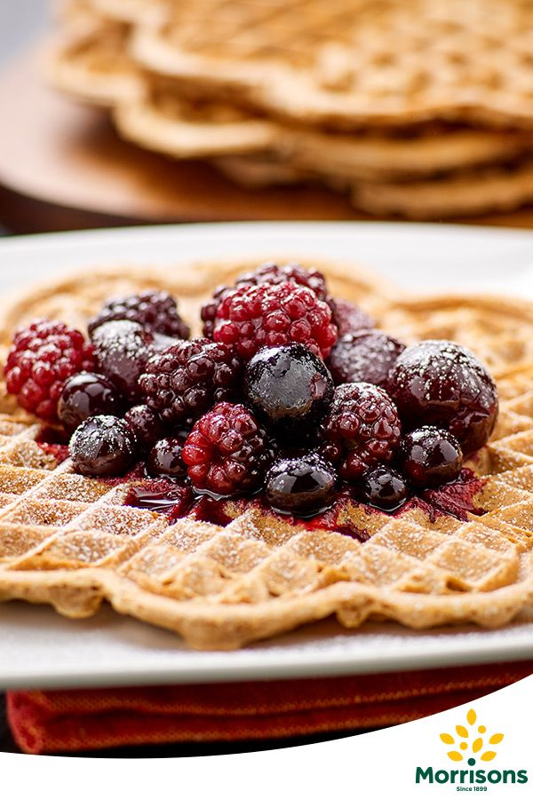 In the mood for love? Try our Gluten Free Heart-shaped waffles with warm spiced berries recipe from our Emotion Cookbook
