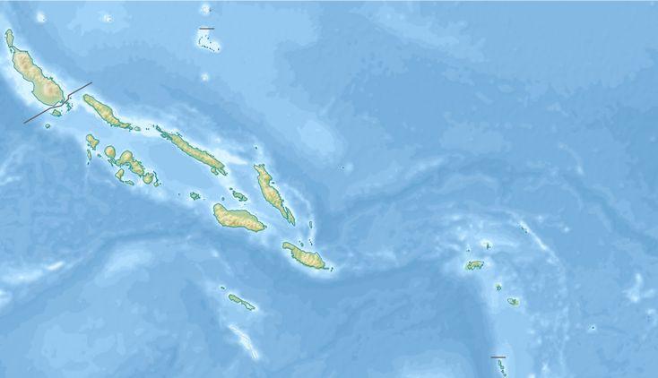 Relief map of Solomon Islands ◆Salomonen – Wikipedia http://de.wikipedia.org/wiki/Salomonen #Solomon_Islands