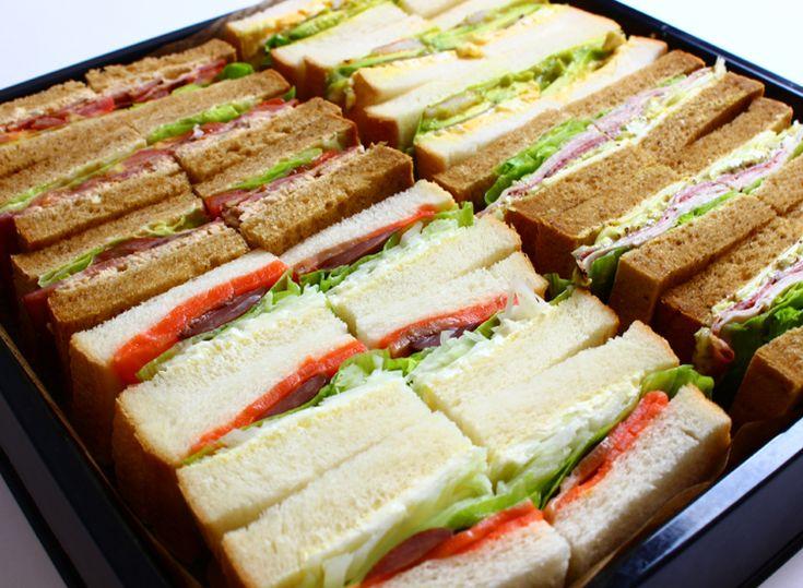 Lunch 弁当 デリバリー ケータリング  おしゃれサンドイッチ