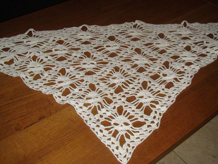Skull shawl Gemaakt in opdracht