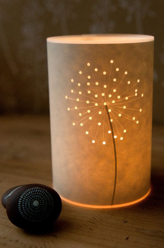 Seed Head Candle Light by Hannahnunn on Etsy