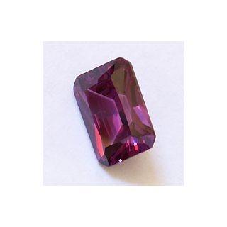 Sparkling Amethyst colored cubic zirconia gemstones. The ...