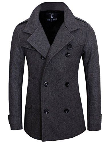 Tom's Ware Mens Stylish Fashion Classic Wool Double Breasted Pea Coat TWCC06-CHARCOAL-US L Tom's Ware http://www.amazon.com/dp/B00HG7HM8I/ref=cm_sw_r_pi_dp_Vr7swb10E97PM