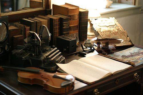 Escritorio dreams pinterest m quinas de escribir - Escritorio para escribir ...