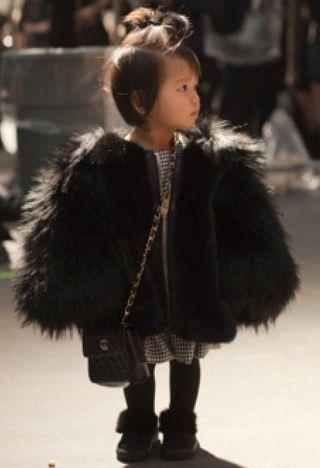 Repinned: Mini Fashion Plates: The 11 most Stylish Celebrity Kids.
