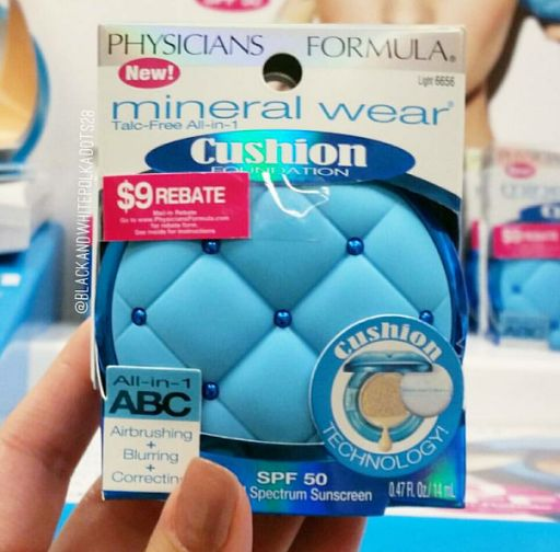 Spotted: NEW Physicians Formula Mineral Wear Cushion Foundation SPF 50