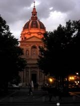 Paris, France.  Sorbonne University -   Group tours are possible but must be arranged in advance.  How to Reserve a Sorbonne Tour:  Send an e-mail to visites.sorbonne@ac-paris.fr or call +33(0)140 462 349.