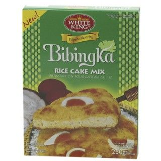 #Bibingka #Mix (#Rijstcake) Bibingka is een traditionele Filipijnse rijstcake die gegeten wordt met Kertsmis en meestal gecombineerd wordt met gemberthee. White King Bibingka Mix (Rijstcake) is een kant-en-klare mix waaraan water, suiker, margarine en eieren toegevoegd dienen te worden. Serveer de lekkere rijstcake met eendeneieren of kokosrasp. Ook lekker als ontbijt! https://www.asianfoodlovers.nl/producten/desserts/bibingka-mix-rijstcake-500-gram