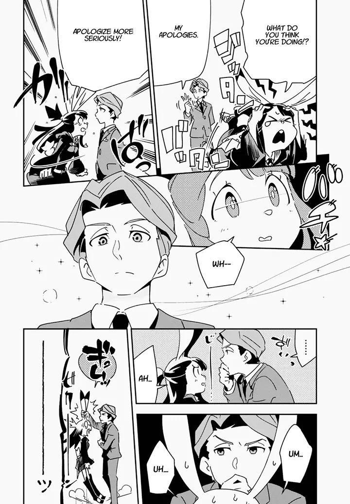 Akko X Andrew Little Witch Academia Manga Anime My Little Witch Academia Manga Covers