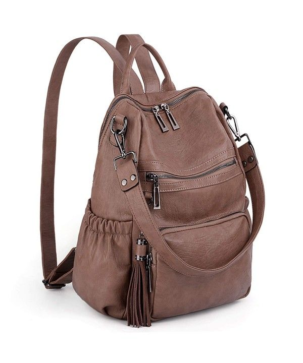 PU Leather Shoulder Bag,Good Vibes Fashion Backpack,Portable Travel School Rucksack,Satchel with Top Handle