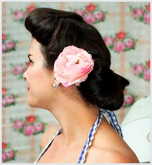 Hochsteckfrisuren-vintage-ponytail
