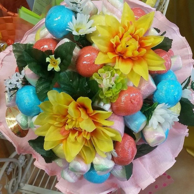 Bouquet di Marshmallow