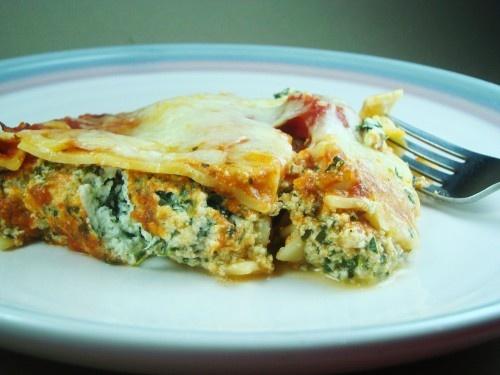 easy spinach lasagna | food ideas. | Pinterest