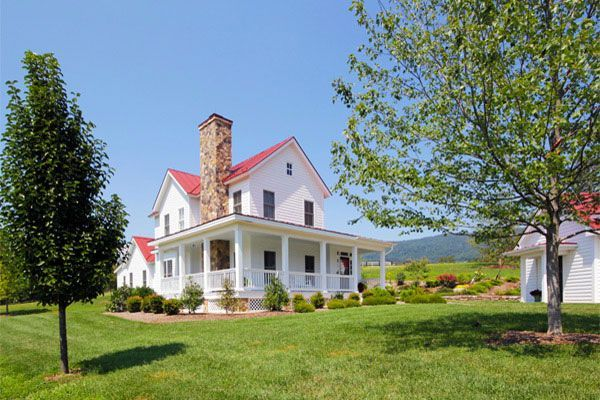 modern clasic farm house plans | Go Back Designed by: Smith & Robertson | 2009 | Western Albemarle ...
