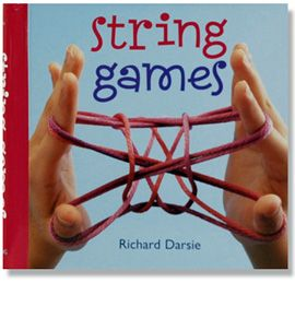 I remember playing string games as a kid. This fun book has a bunch of creative and fun games to learn all using string. Play games and make figures using this easy step by step guide. This book would be great to take on an airplane or to grandmas' house…or just save it to entertain the troops on a rainy day,