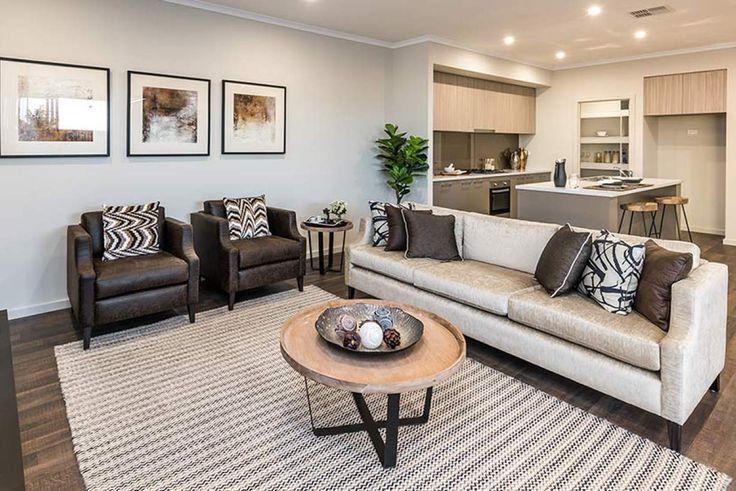 This lovely living area is the perfect place for all the family to relax. #weeksbuildinggroup #newhome #homedesign
