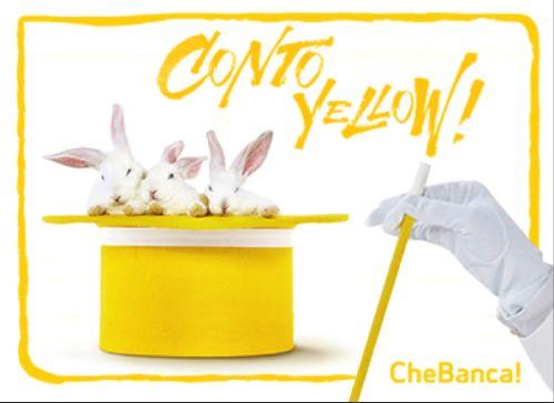 Investire senza rinunciare alla praticità di un conto corrente online? Conto Yellow CheBanca! unisce le due cose#ad