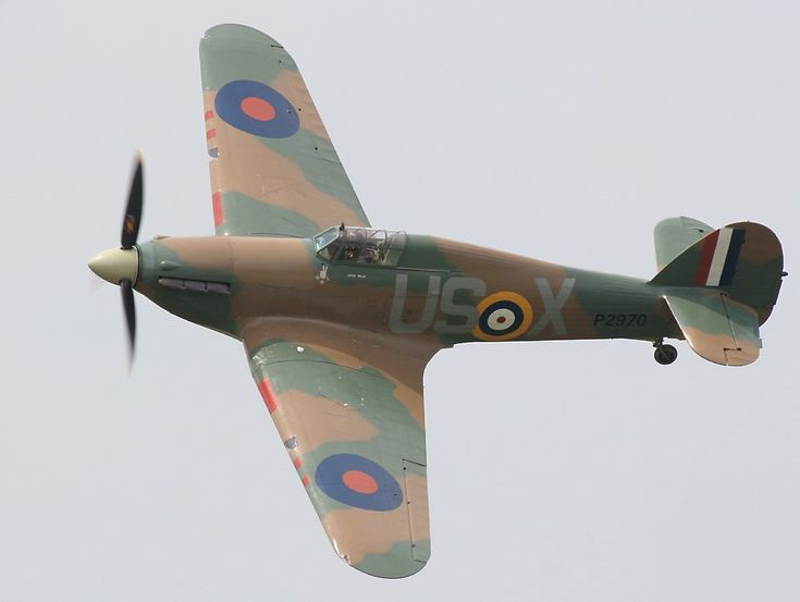 The Hawker Hurricane... British, and pretty similar to the spitfire... both fantastic aircraft!