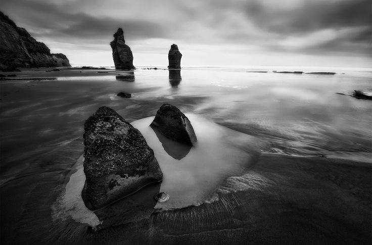 Three Sisters Beach, New Zealand - by Yan Zhang. Artprints available nationwide and online thru www.imagevault.co.nz