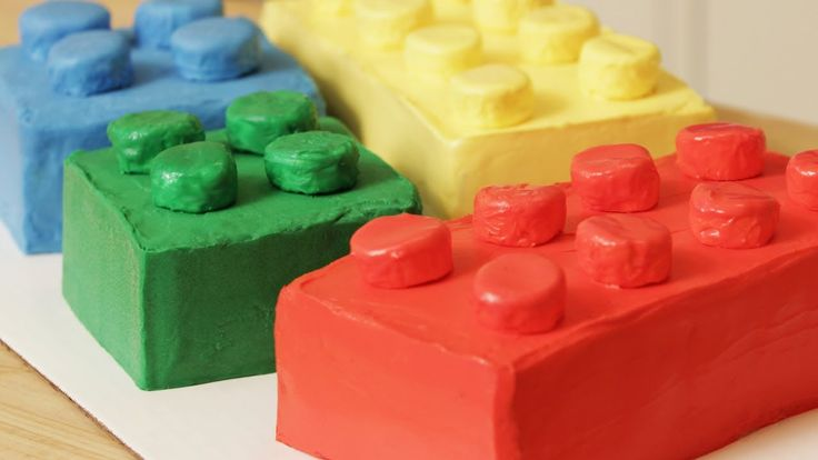 HOW TO MAKE A LEGO CAKE - NERDY NUMMIES, Totally making this one for Andrew this year!