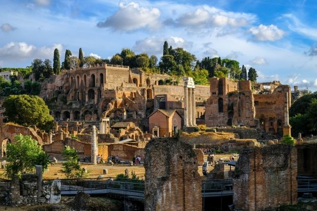 3 000 Years Of History On Rome S Palatine Hill Palatine Hill Rome History Ancient Rome History