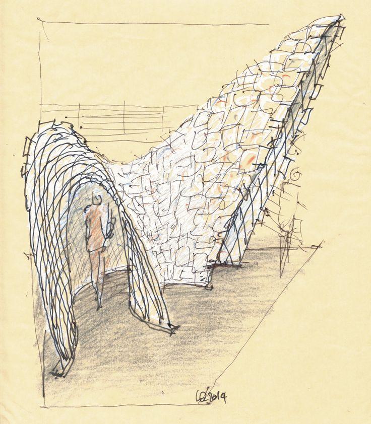 Luigi Rosselli Architects | Paper Arch | © Luigi Rosselli