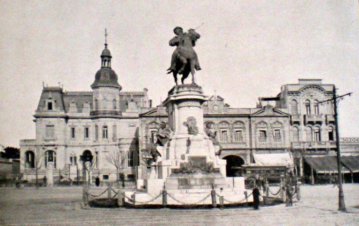 antigua estación de tranvías,1910: Plaza Italia