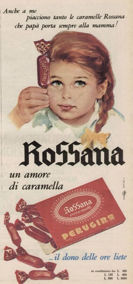 CARAMELLE ROSSANA - PERUGINA