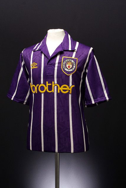 Manchester City Football Shirt (away, 1992-1994)