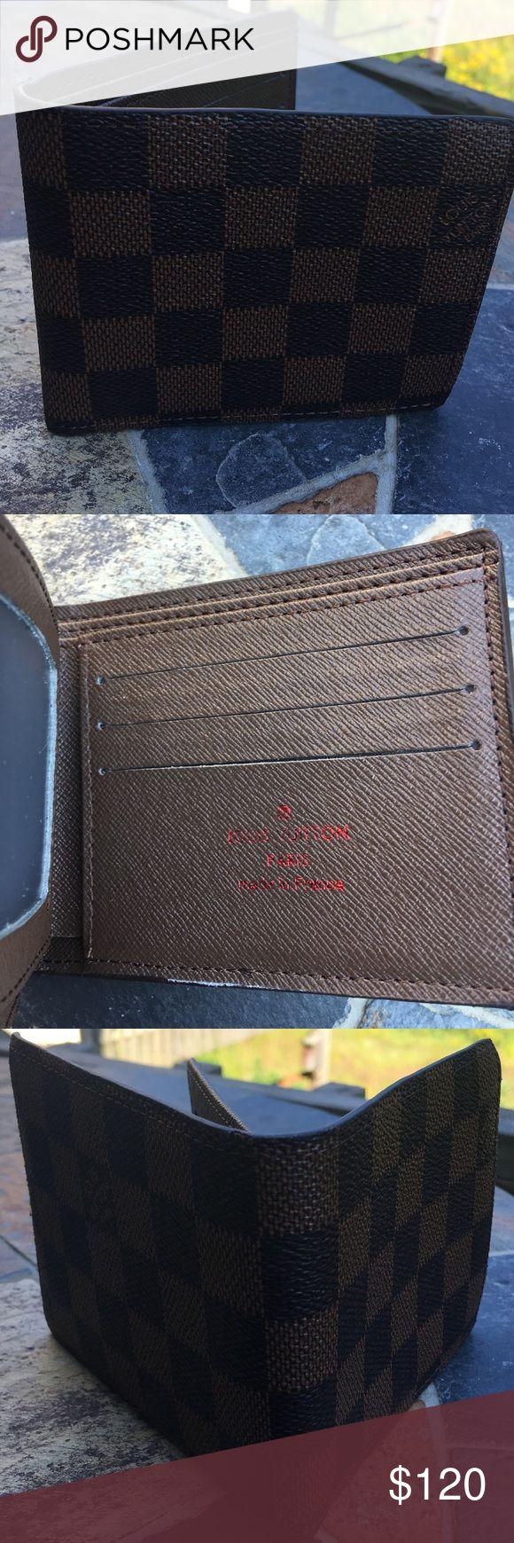 Louis Vuitton Wallet Price reflects a brand new Louis Vuitton wallet. No Flaws. OBO. No Lowballing Louis Vuitton Accessories