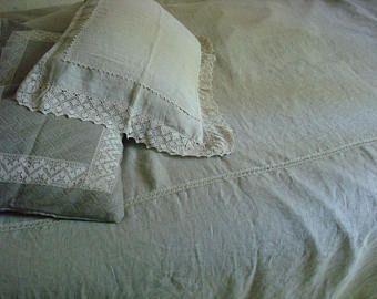 Linen COVERLET natural linen bedspread  Queen size blanket linen quilts Linen Bed Cover by LUXOTEKS (scheduled via http://www.tailwindapp.com?utm_source=pinterest&utm_medium=twpin)