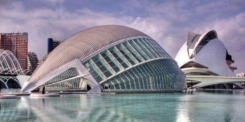 Город искусств и наук, Валенсия, Испания
