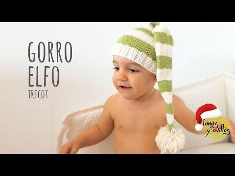 Tutorial Gorro Elfo Tricot Fácil y Rápido (Todas las tallas)